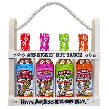 Ass Kickin' Hot Sauce Gift Set
