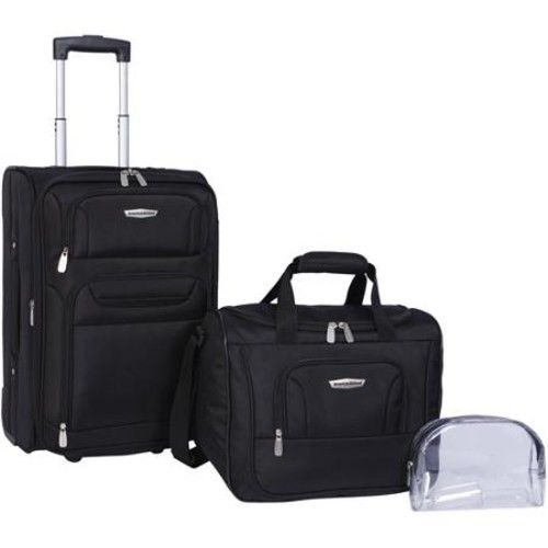 """American Airlines 3-Piece Luggage Set, 21"""""""