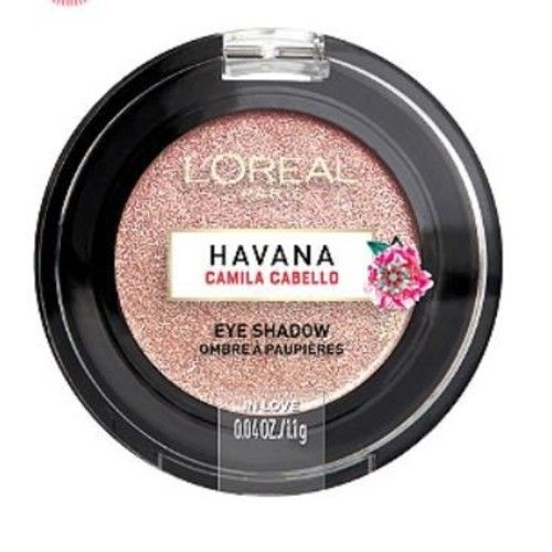 L'Oreal Havana x Camila Cabello Collection! Choose From Liquid Liner, Liquid Brows, Liquid Bronzer's, Lip Glosses And Eye Shadow's! (In Love (Shimmery Light Pink) Eyeshadow)