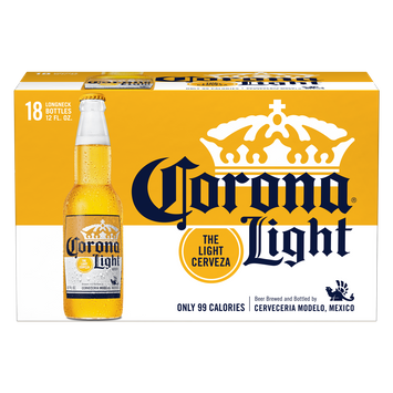 Corona Light Mexican Import Beer, 4.1% ABV