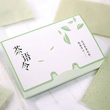 Tea Oil Absorbing Tissues Facial Oil Blotting Paper Ace Oil Absorbing Paper 80/100 sheets in one box