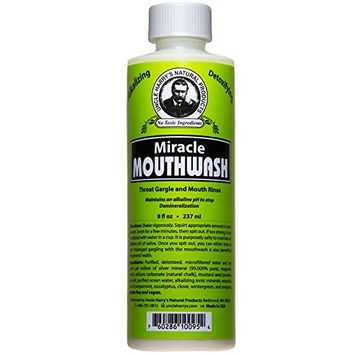 Uncle Harry's Natural Alkaline Miracle Mouthwash (8 fl oz)