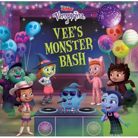 Vee's Monster Bash - (Vampirina) by Chelsea Beyl (Hardcover)