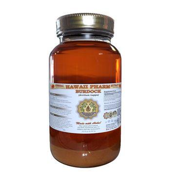 Burdock (Arctium Lappa) Tincture, Organic Dried Root Liquid Extract, Niu Bang Zi, Herbal Supplement 32 oz Unfiltered