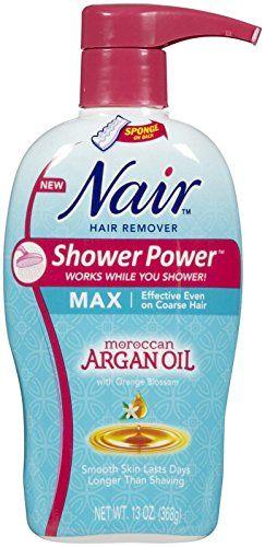 Nair Moroccan Argan Oil Shower Power Max 13 oz