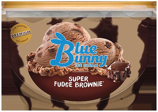 Blue Bunny Premium Super Fudge Brownie Ice Cream , 46 fl oz