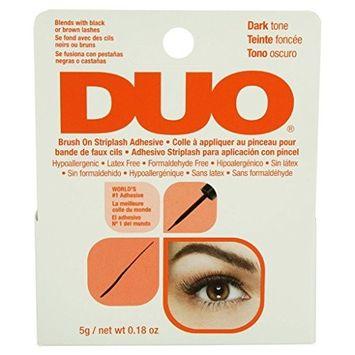 Duo Brush-On Lash Adhesive-Dark Tone 5g/ 0.18 oz (Orange Package)
