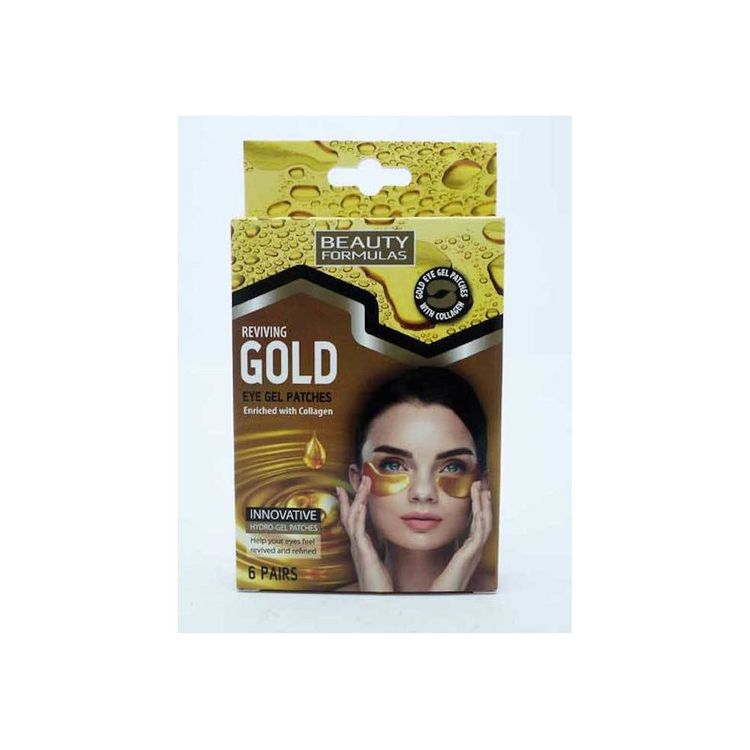 Beauty Formulas Reviving Gold Eye Gel Patches Enriched with Collagen