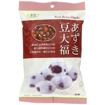 Royal Family Mochi, Red Bean, 4.2-Ounce (Pack of 24)