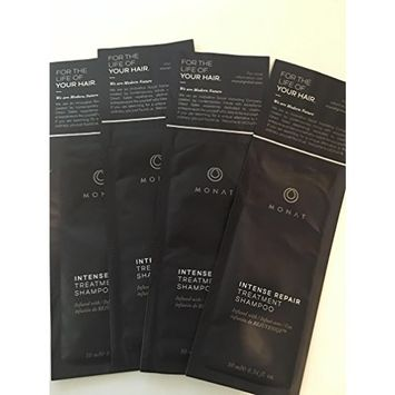 MONAT Intensive Repair Treatment Shampoo 10 ml/ 0.34 oz 4 pack