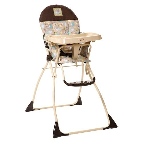 Cosco Juvenile Flat-Fold High Chair, Kontiki (Discontinued by Manufacturer)