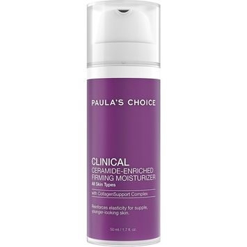 Paula's Choice-CLINICAL Ceramide-Enriched Firming Moisturizer 1.7 fl oz Bottle, Face Firming Moisturizer with Retinol and Vitamin C, For Normal Dry Oily Combination Aging Skin