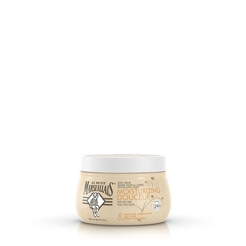 Le Petit Marseillais Shea Butter, Aloe & Beeswax Moisturizing Body Balm, French Skin Care for providing relief to Dry Skin & pH Neutral for Skin, 8.4 fl. oz