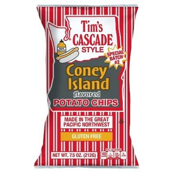 Tim's Cascade Style Coney Island Flavored Potato Chips - 7.5oz