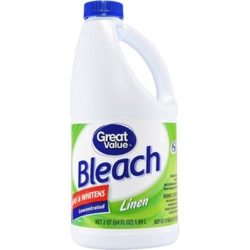 Great Value Bleach, Linen Scent, 64 fl oz