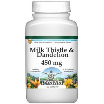 Milk Thistle and Dandelion Combination - 450 mg (100 capsules, ZIN: 512989)