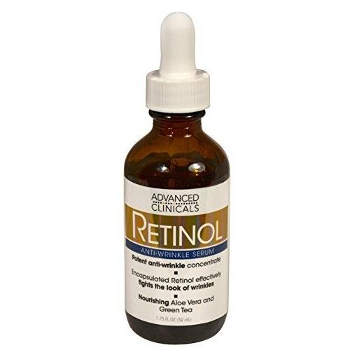 Advanced Clinicals Professional Strength Retinol Serum. Anti-aging, Wrinkle Reducing 1.75 Fl Oz. by Advanced Clinicals