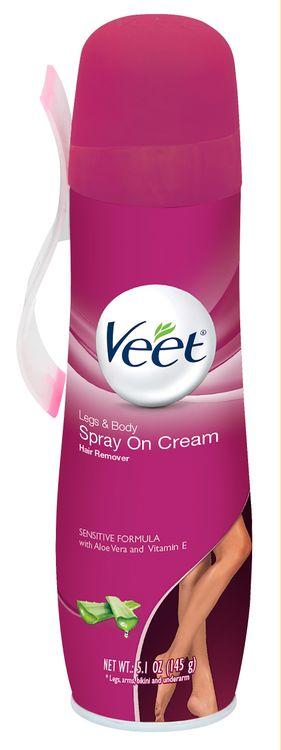 Veet 3in1 Spray on Cream Hair Remover