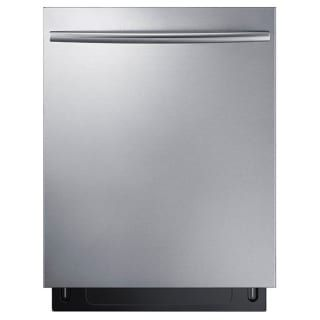Samsung DW80K7050U 24 Inch Wide 15 Place Setting Energy Star Rated Built-In Dishwasher with Curved Handle and StormWash™