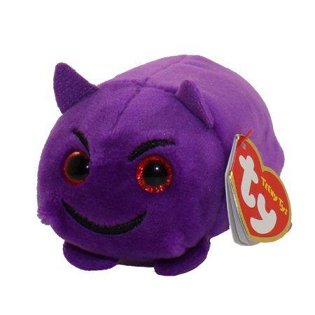 TY Beanie Boos - Teeny Tys Stackable Plush - Emoji - DEVIL (4 inch)