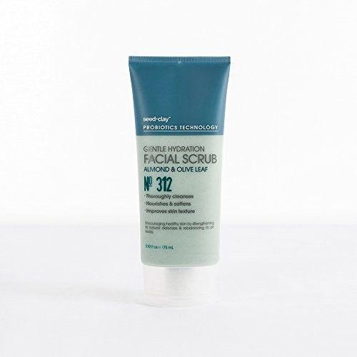 Seed + Clay Probiotics Technology Gentle Hydration Facial Scrub