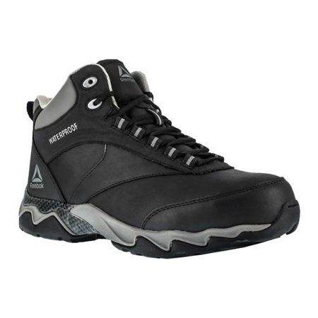 Reebok Men's Beamer RB1068 Work Shoe, Black, 11 W US