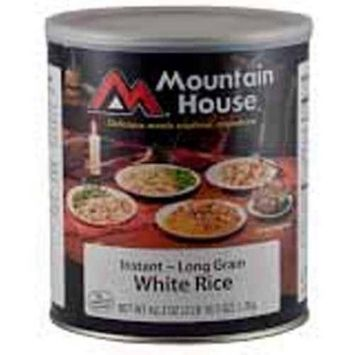 Mountain House 290117 Insant White Rice - 10 Can