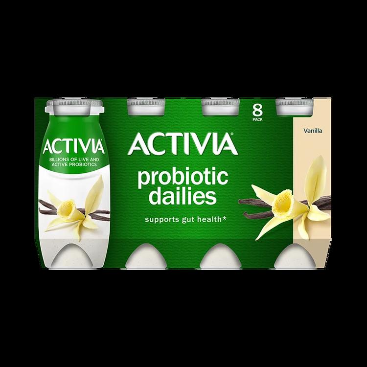 Activia Greek Vanilla 4X5.3Oz 2Ov2