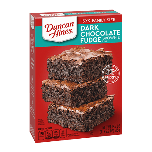 Duncan Hines® Dark Chocolate Fudge Brownie Mix