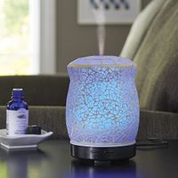 Better Homes and Gardens 100 ML Essential Oil Diffuser, Crackle Mosaic