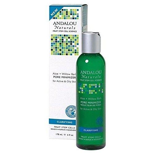 Andalou Naturals Clarifying Aloe Plus Willow Bark Pore Minimizer