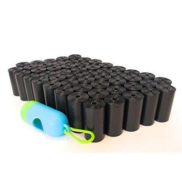 ShoppingLion Pet Waste Bags, Dog Waste & Poop Bags, EPI Technology, Dispenser & Clip Included [1 Dispenser]