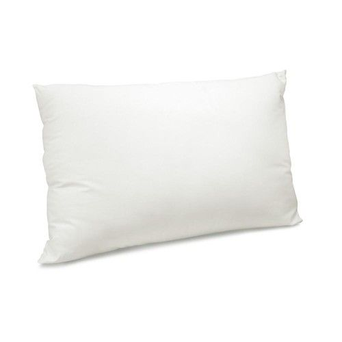 300 Thread Count Organic Cotton with Recycled Polyester Blend Standard Pillow (Set of 2)