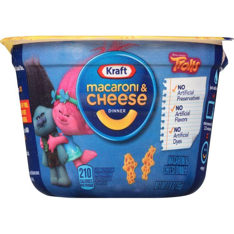 Kraft Ninja Turtle Shapes Macaroni & Cheese Dinner