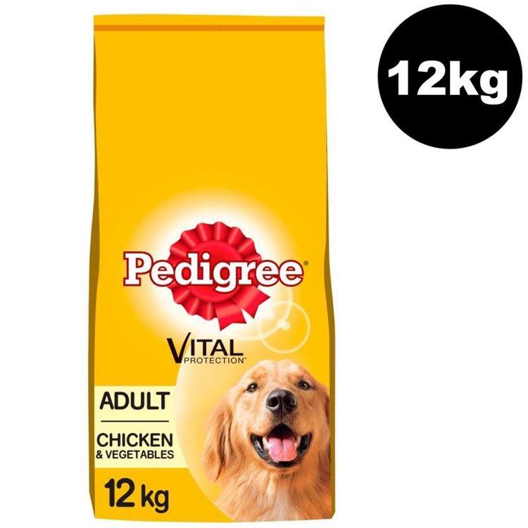 Damaged Pedigree Complete Chicken & Veg Dry Dog Food - 12kg