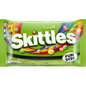 Skittles Sour Fun Size Candy Bag 8.67 Ounce