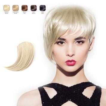 Hollywood Hair Sweeping Side Fringe - Platinum Blonde