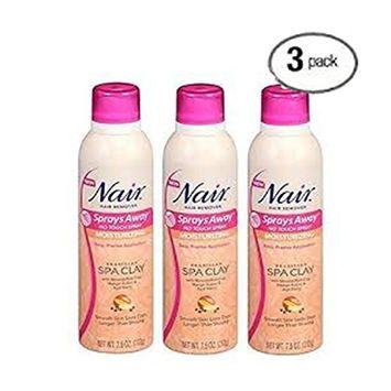 Nair Hair Remover Sprays Away Spa Clay 7.5oz by Nair