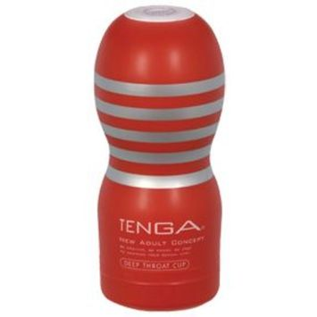 Deep Throat Cup (1 Massage Sleeve) by Tenga at the Vitamin Shoppe