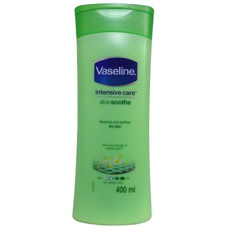 New 824848  Vaseline Lotion 400Ml Aleo Soothe (6-Pack) Facial Cheap Wholesale Discount Bulk Health And Beauty Facial Acne Wash