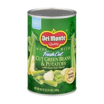 Del Monte FreshCut Cut Green Beans & Potatoes, 50 oz