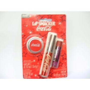 Lip Smacker Coca-Cola Bottle Cap Lip Gloss/Lip Balm Set