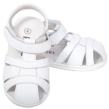Angel White Fisherman Open Heel Sandals Baby Boy 1-Toddler Boy 7 [clothing size type-regular]
