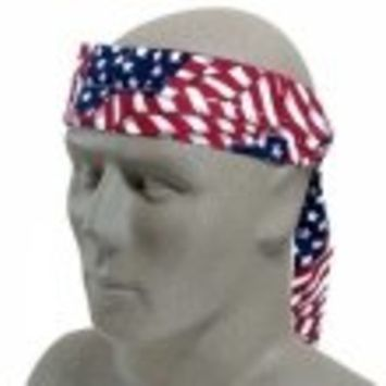Size Fits All Wavy Flag MiraCool Headband