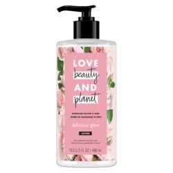 Love Beauty & Planet Murumuru Butter & Rose Delicious Glow Body Lotion