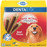Pedigree® Dog Treats DENTASTIX™ Beef Flavor (Large)