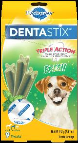Pedigree® Dog Treats Dentastix™ Fresh (Small/Medium)