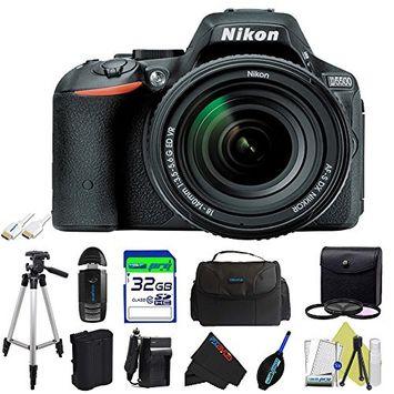 Nikon D5500 DSLR Camera with 18-140mm Lens + Pixi-Basic Accessory Kit