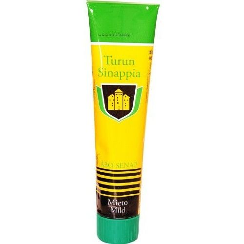 TURUN Mustard Mild 125gram 1pack Finland