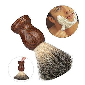 Doinshop Men's Original Pure Badger Hair Shaving Brush Resin Handle Best Shave Barber